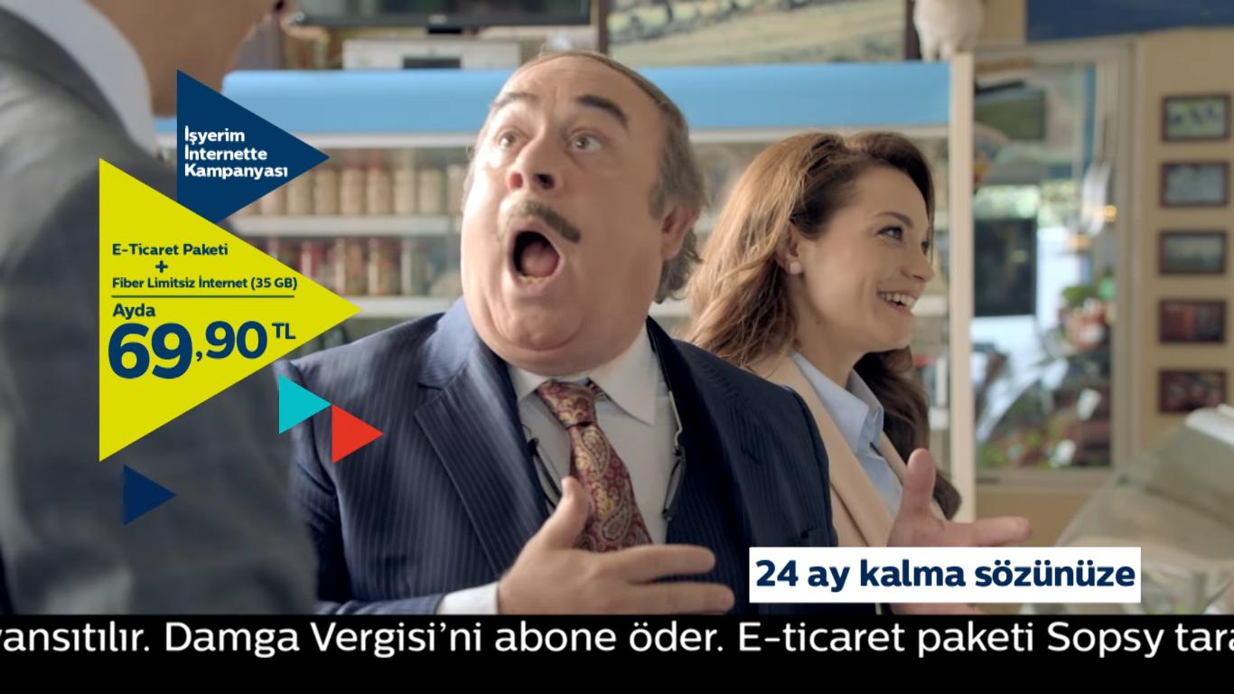İşyerim İnternette - TÜRK TELEKOM - Türkiye'nin Reklamları