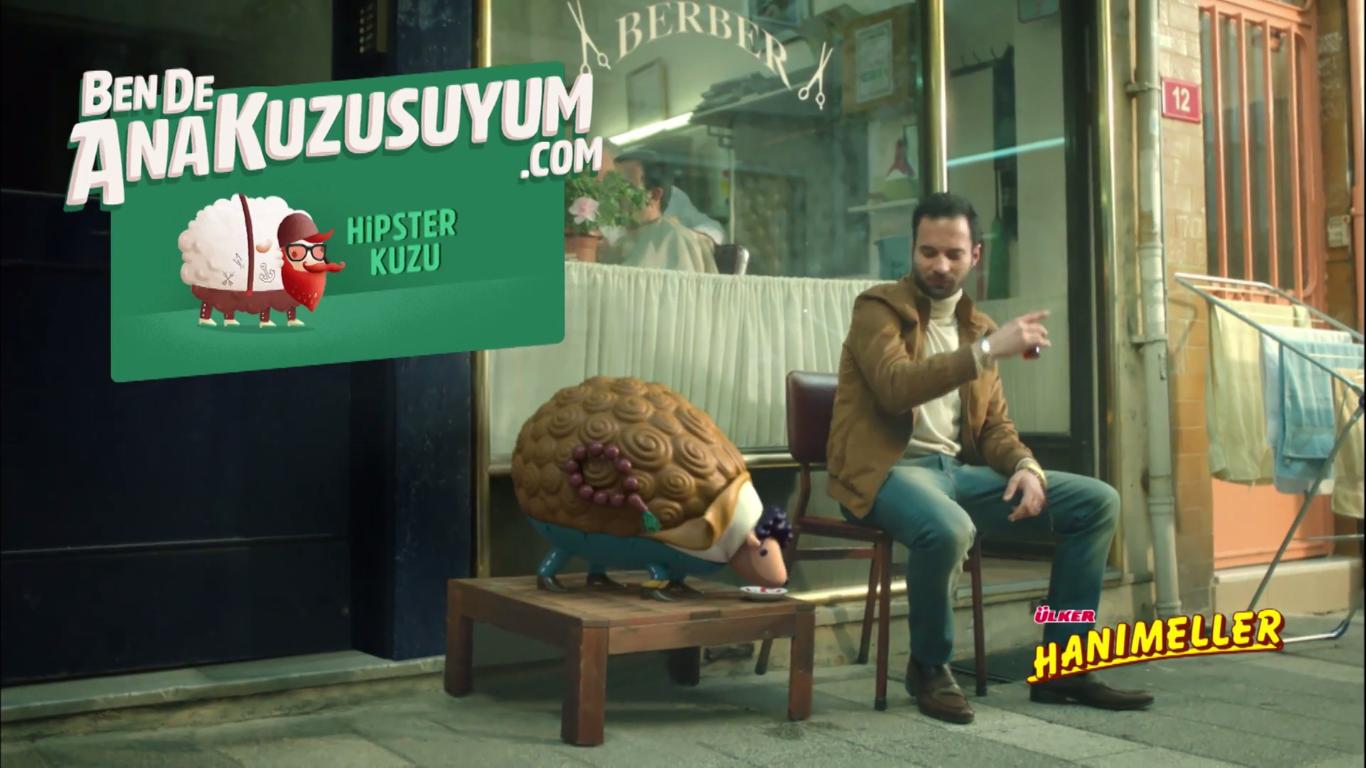 Ben De Ana Kuzusuyum, Delikanlı - ÜLKER HANIMELLER - Türkiye'nin Reklamları