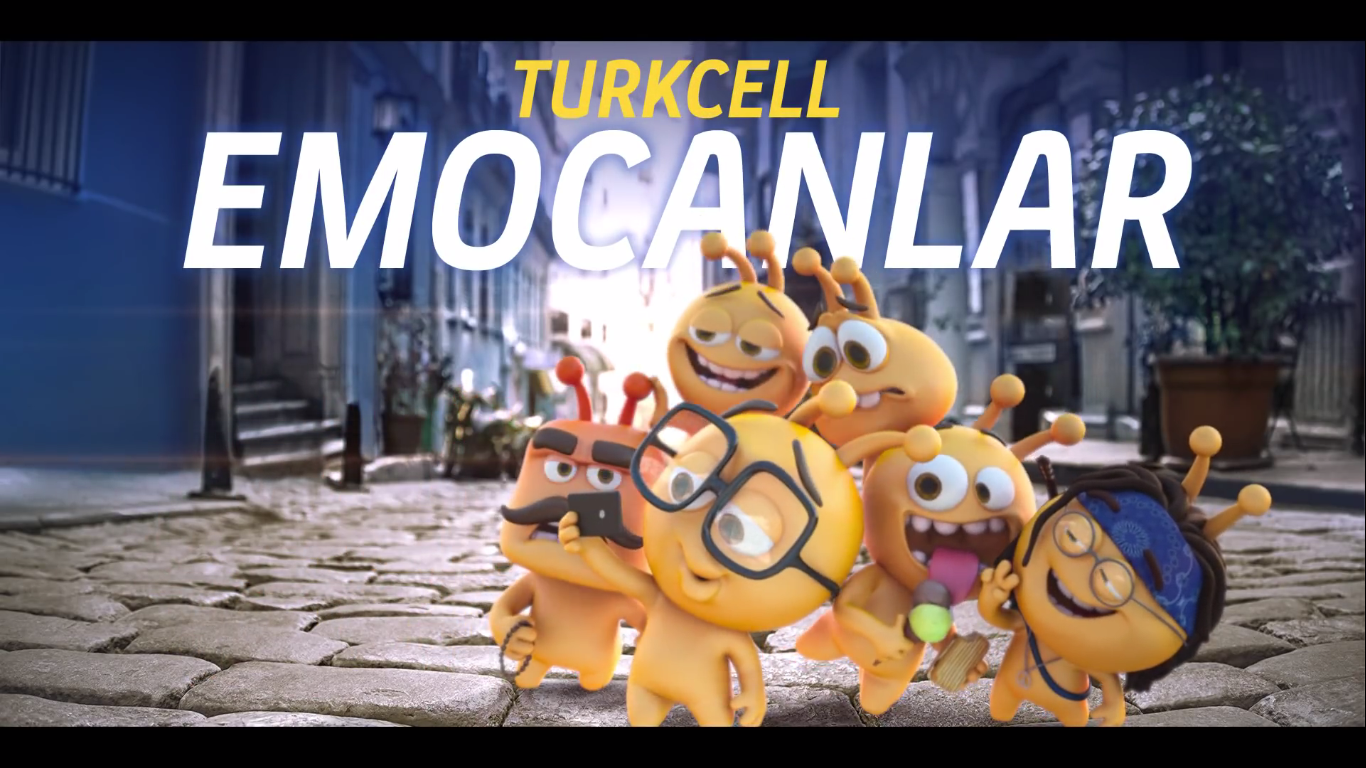 Turkcell'in Yeni Reklam Yüzleri Turkcell Emocanlar - TURKCELL - Türkiye'nin Reklamları