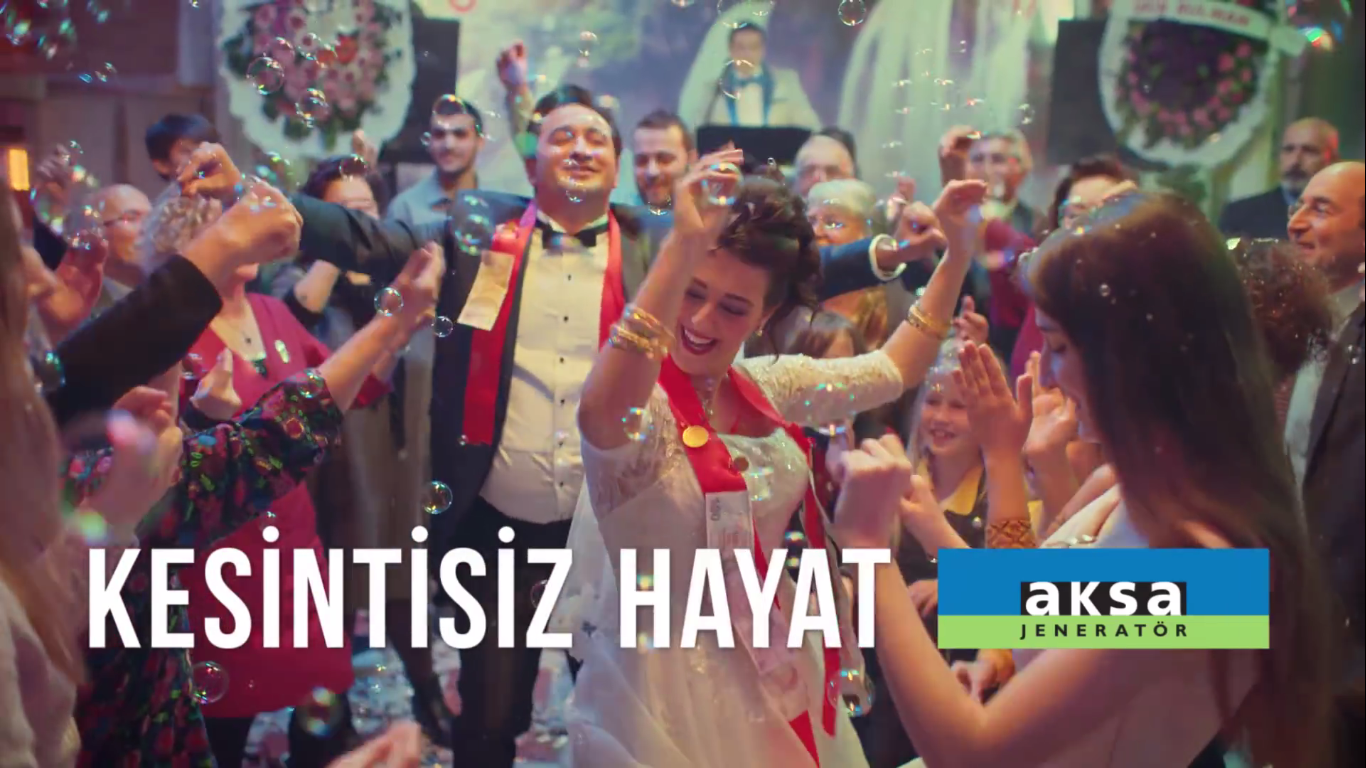 Keşke Hayat Kesintisiz Aksa! Düğün - AKSA - Türkiye'nin Reklamları