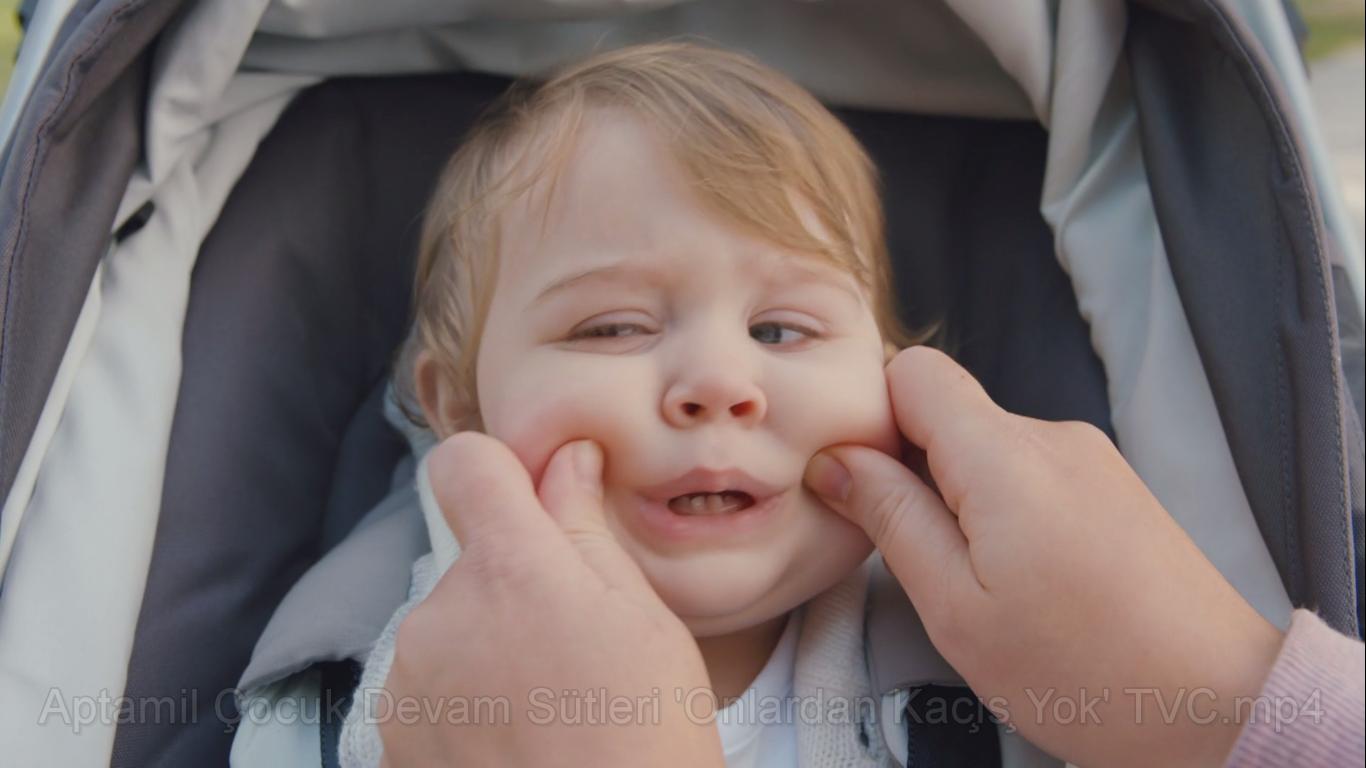 Onlardan Kaçış Yok, Aptamil Çocuk Devam Sütü - DANONE NUTRUCIA APTAMİL - Türkiye'nin Reklamları