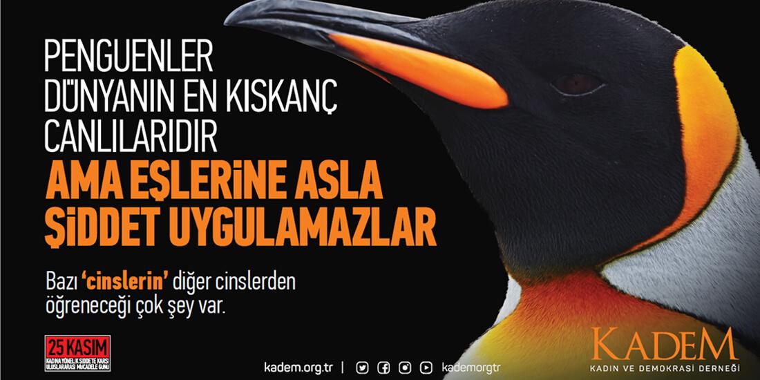 25 Kasım Kadına Yönelik Şiddetle Mücadele Günü, Penguen – KADEM