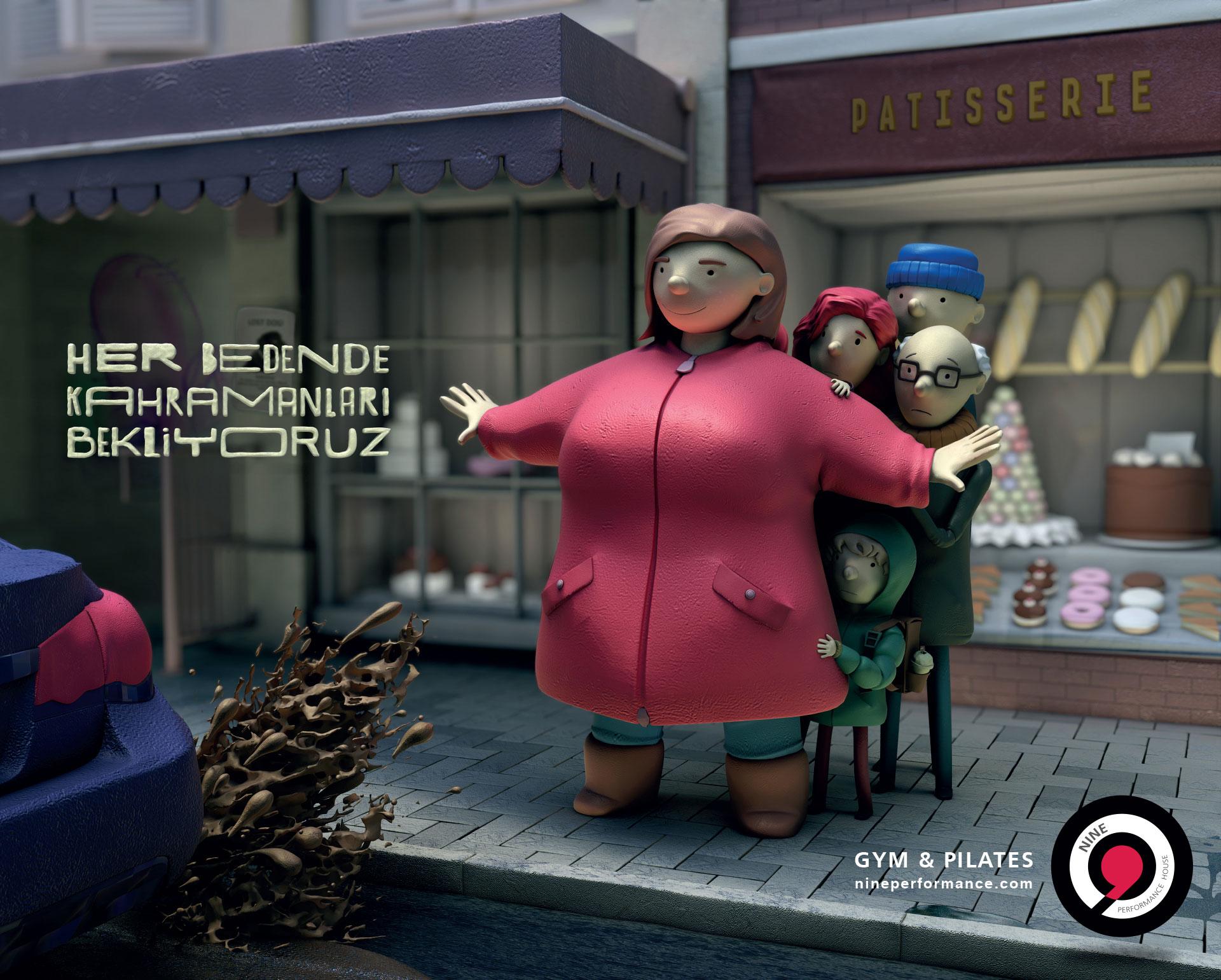 Her Bedende Kahramanları Bekliyoruz - Nine Performance_Türkiyenin_reklamları