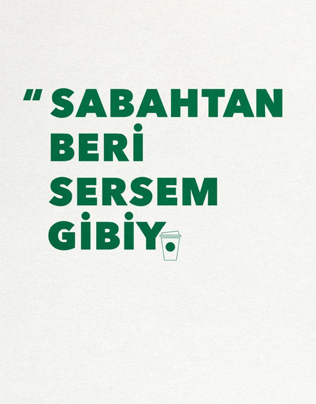 Sabahtan Beri Sersem Gibiyim - STARBUCKS TÜRKİYE-türkiyenin-reklamları