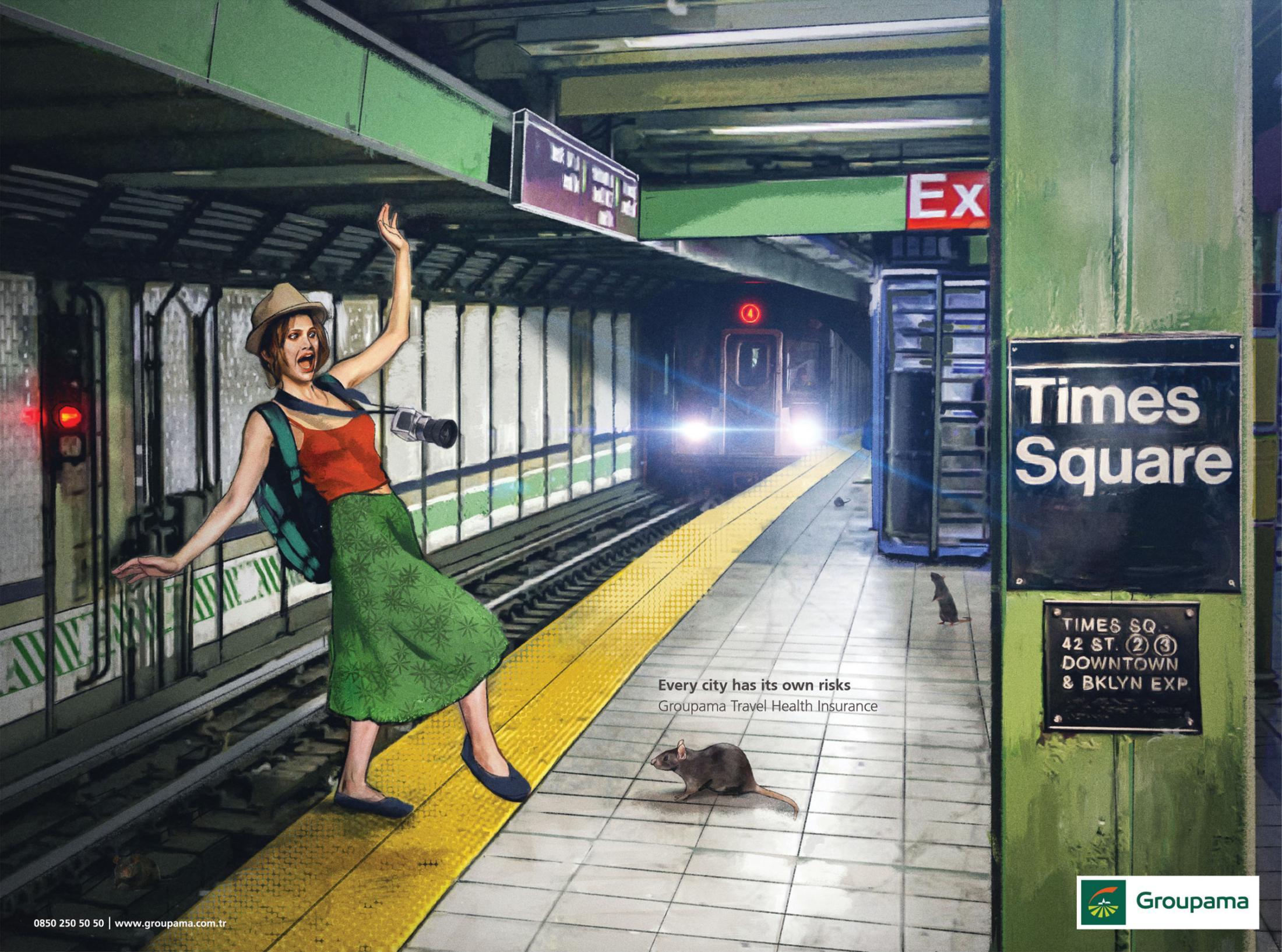 Her Şehrin Kendi Riski Vardır, ABD - GROUPAMA - türkiyenin-reklamları