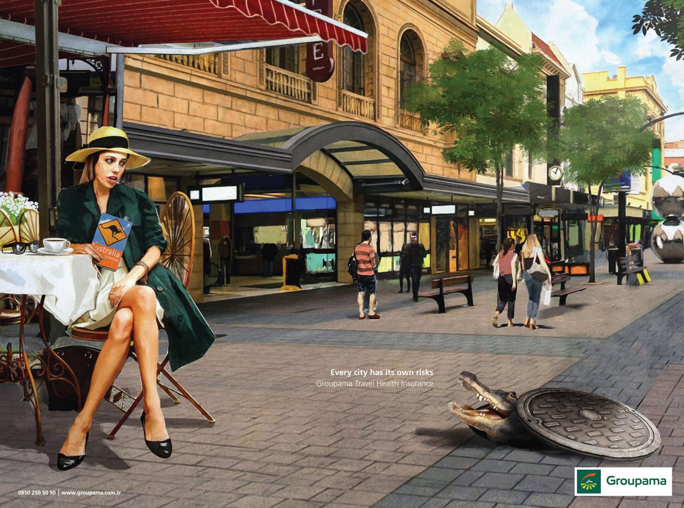 Her Şehrin Kendi Riski Vardır, Avustralya - GROUPAMA-türkiyenin-reklamları