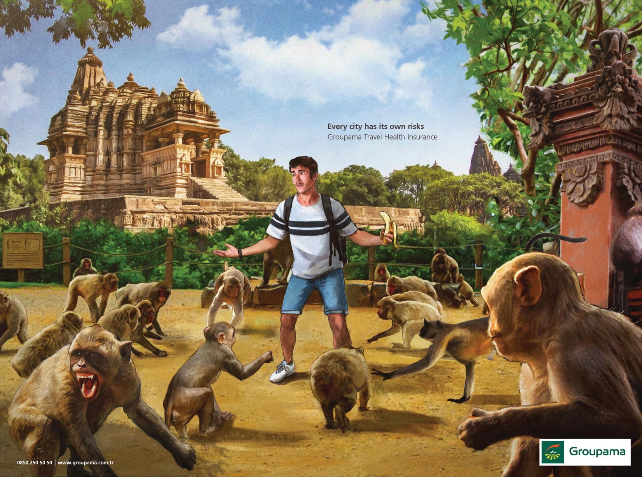 Her Şehrin Kendi Riski Vardır, Hindistan - GROUPAMA-türkiyenin-reklamları