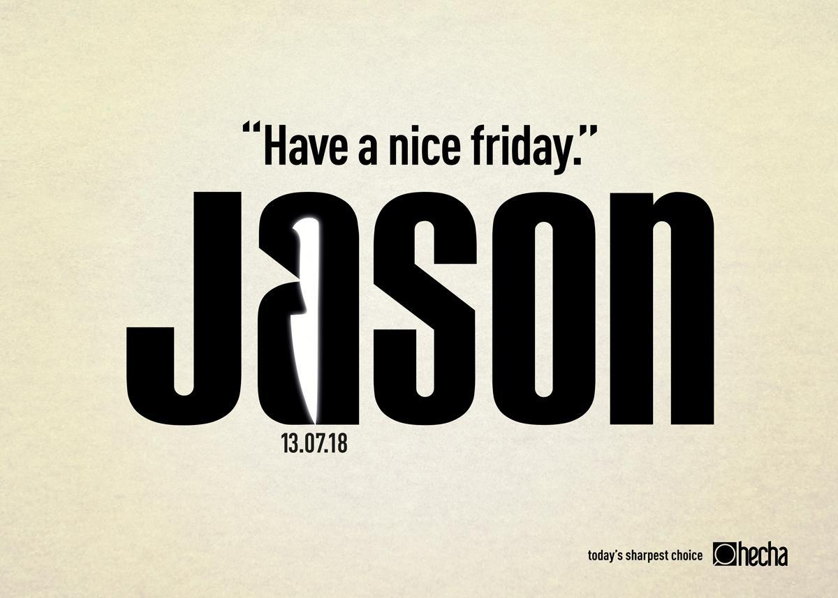 Kes, Kes, Kes, İyi Cuma'lar Jason!-türkiyenin-reklamları