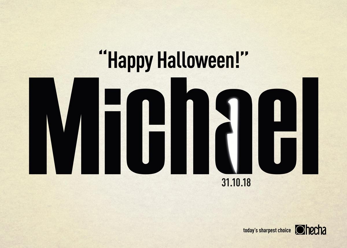 Kes, Kes, Kes, Cadılar Bayramın Kutlu Olsun Michael! - HECHA