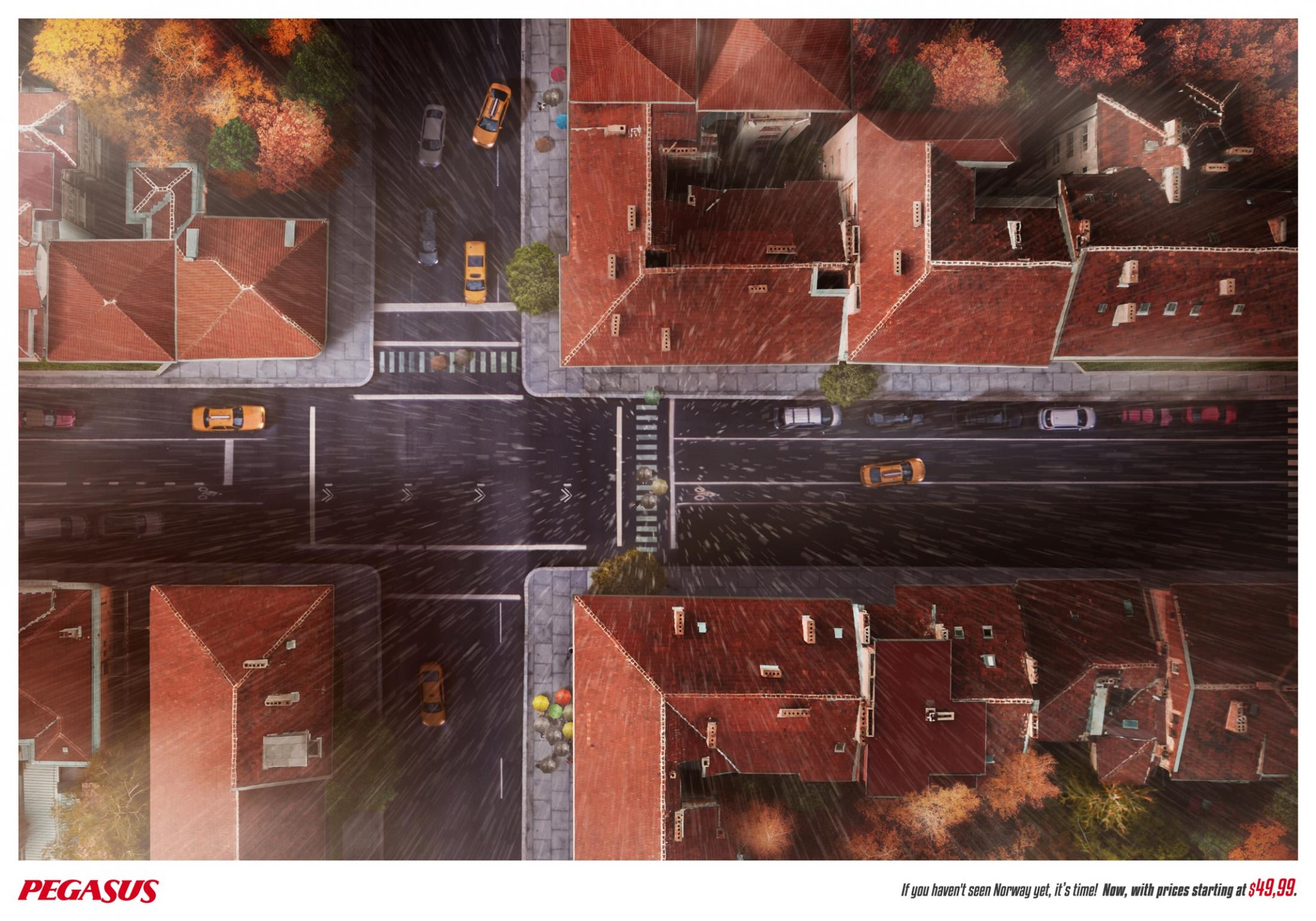 Norveç'i Hâlâ Görmediysen, Şimdi Tam Zamanı - PEGASUS-türkiyenin-reklamları