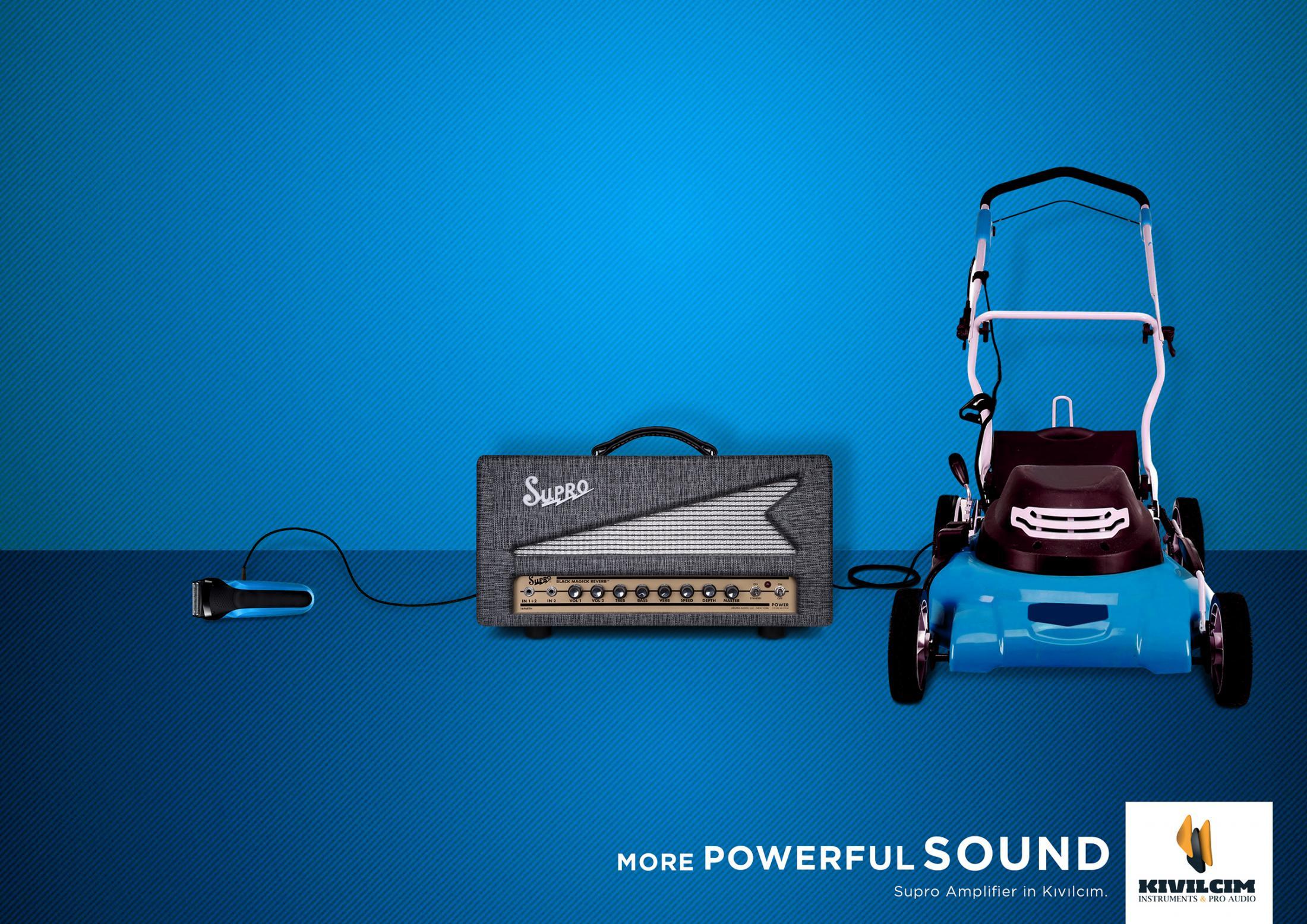 Daha Güçlü Ses, Çim Biçme Makinesi - KIVILCIM MÜZİK-türkiyenin-reklamları