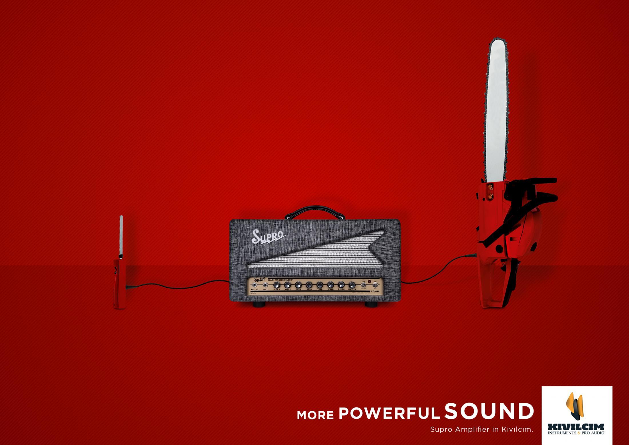 Daha Güçlü Ses, Testere - KIVILCIM MÜZİK-türkiyenin-reklamları